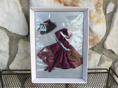 Tonner Tiny Kitty Collier Doll Wine and Roses Outfit Clothing Dress New in Box