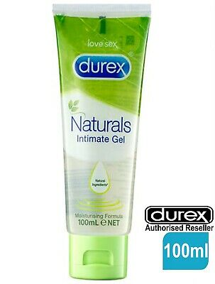 Durex Naturals Intimate Gel Water based Moisture Lubricant Lube 100ml Tube