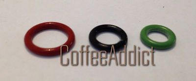 Delonghi Coffee Machine 3 O Ring Set For Milk Jug Coupling