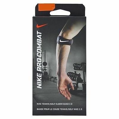 New NIKE Pro Combat Tennis/Golf  Elbow BAND 2.0 Black S/M L/XL