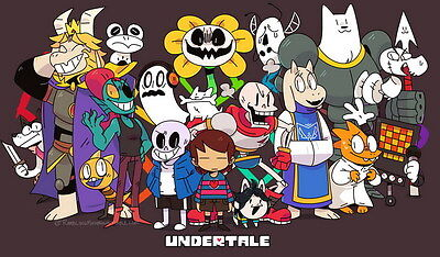 "YX01889 Undertale - Role-Playing Video Game 23""x14"" Poster"
