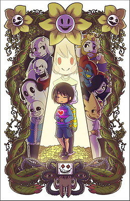 """YX01894 Undertale - Role-Playing Video Game 14""""x21"""" Poster"""