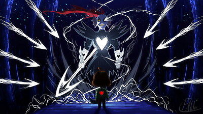 """YX01859 Undertale - Role-Playing Video Game 24""""x14"""" Poster"""