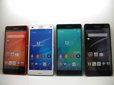 NTT-docomo SO-02G Sony Xperia Z3 Compact Non-working Display Phone 4 color set