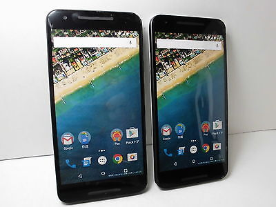 NTT-docomo Google Nexus5X Non-working Display Phone 2 color set