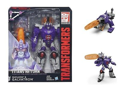 Transformers Generations Voyager Class Titans Return GALVATRON Action Figure Toy