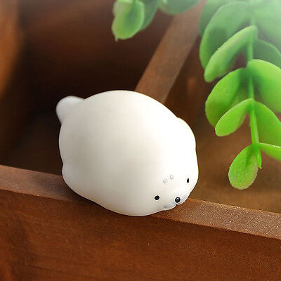 Funny Adult decompression Toys Anti Stress Cute Soft Seal Shaped Press Doll