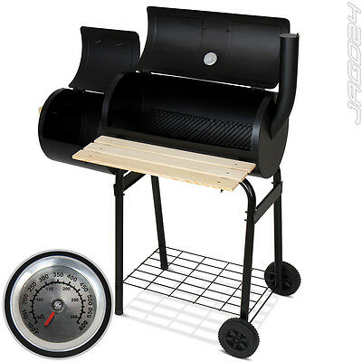 Barbecue BBQ fumoir charbon de bois smoker grill camping thermomètre grillades