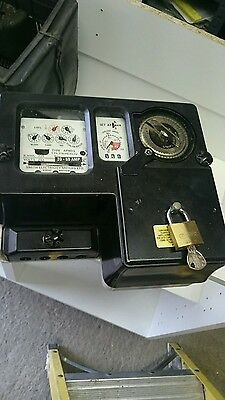 coin opperated electric meter