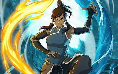"DM04836 The Legend of Korra - Hot Anime Movie Large 22""x14"" Poster"
