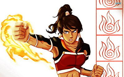 "DM04771 The Legend of Korra - Hot Anime Movie Large 22""x14"" Poster"