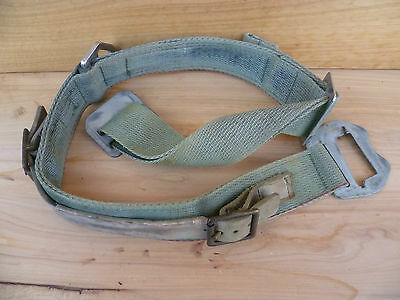 Vintage Old Large Size Mining Lamp Belt And Attachments (A1)