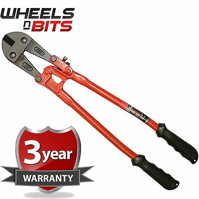 "24"" 600mm Heavy Duty Hardened Carbon Steel Bolt Cutter Tool Wire Cable Cutting"