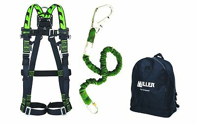 Honeywell 1033870 Titan backpack harness kit with 2m manyard lanyard