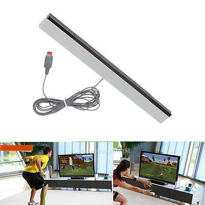 Wired Remote Motion Infrared Ray Sensor Bar IR Inductor for Nintendo Wii / WiiU