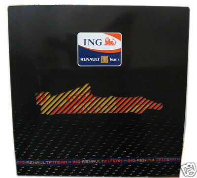 F1 Renault ING Team 2008 Presentation Pack Alonso Piquet Briatore Guide RARE!