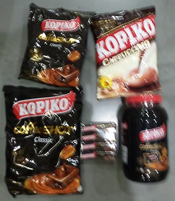 Kopiko Real Coffee & Cappuccino Candy Sweets Strong Hard Candy
