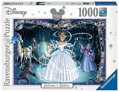 Ravensburger Italy 19678 - Puzzle Cenerentola Disney Collection, 1000 Pezzi