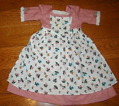 American Girl Felicity Spring Pinner Dress With Apron