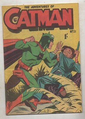 CATMAN  No 21    VF/ N MINT   CONDITION