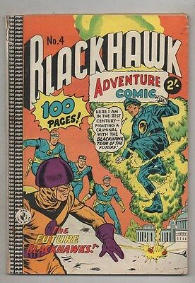 BLACKHAWK  No 4  BY COLOUR COMICS  FINE  CONDITION