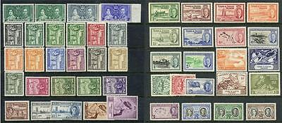 Turks & Caicos Islands GVI Mint Stamps, Values to 10/-. Cat £200+