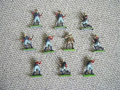 Britains Deetail acw Union Soldiers & Custer