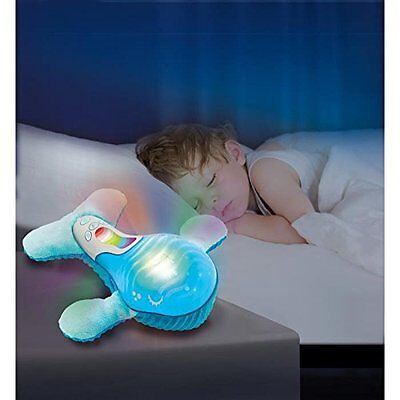 Sail Away Slumber Pal Whale Mobile Baby Nursery Nightlight Calming Lullaby Sound