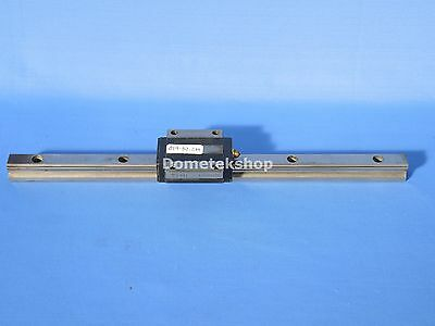THK HSR15 linear guide and rail, 28 cm