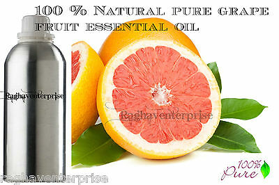 Grape fruit Essential Oil 100% Pure Natural Therapeutic Aromatherapy 5ml - 500ml