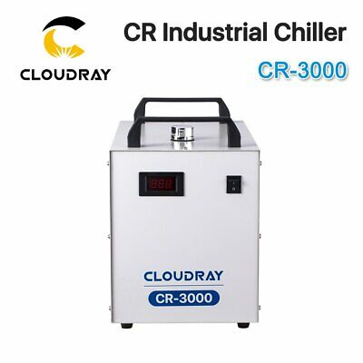 CW3000 Industrial Water Chiller Cooling with 60W 80W CO2 Laser Tube 220V 110V