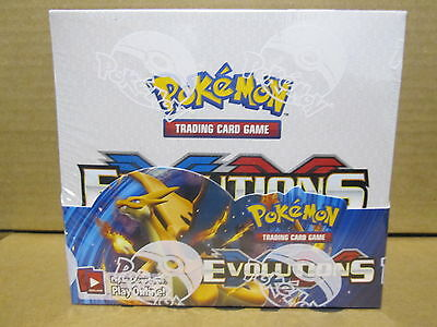 Pokemon Evolutions Booster 6 Boxes Sealed Case New