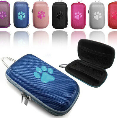 Durable Animal PAW Fabric MP3 Player cover Clamshell Case For SanDisk Sansa Clip