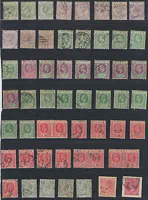 St. Lucia Stamps   Early Assortment   55Pc