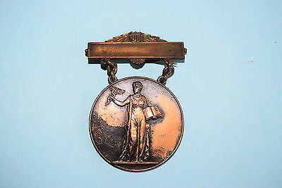 1920s Vintage Allied Animal Industry Associations Service Award Medal