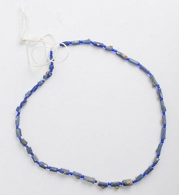 Ancient Roman Glass Beads Necklace c.2nd century AD.