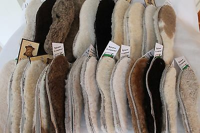 Sheepskin Lambswool  Shoe Boots Boot Insoles ,Insole Inner Soles