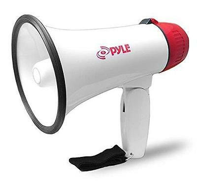 Pyle Home PMP20 Compact 20 Watt Power Megaphone, White, Small New