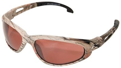 Edge Dakura Polarized Safety Glasses with Camo Frame and Copper Lens