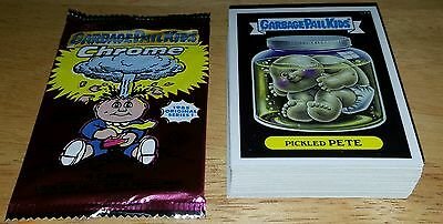 2013 Garbage Pail Kids Chrome Series 1 Complete 28 Card LOST Set Mint GPK TOPPS