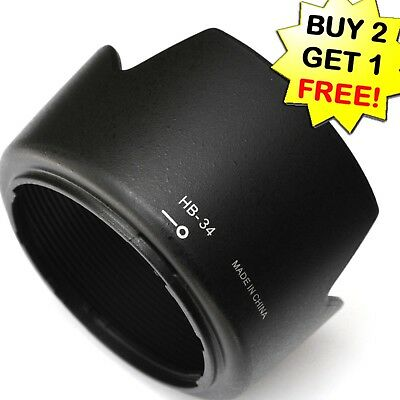 HB-34 Lens Hood for Nikon AF-S DX 55-200mm F4-5.6G ED HB34 55-200  e118