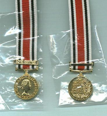 Miniature of SPECIAL CONSTABULARY MEDAL with LONG SERVICE Clasp- EIIR