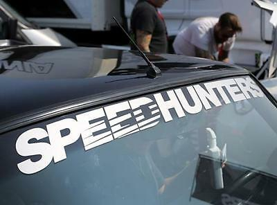 Speedhunters *white* Screen Header / Windshield Banner - Official Merchandise