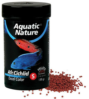 Aquatic Nature African Cichlid Excel Color S 130 g Farbfutter für Malawibarsche
