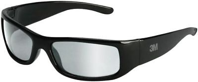 3M Moon Dawg Safety Glasses with Black Frame and Indoor/Outdoor Lens