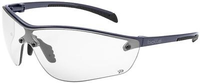 Bolle Silium Plus Safety Glasses | Graphite Frame | Clear Anti-Fog Lens
