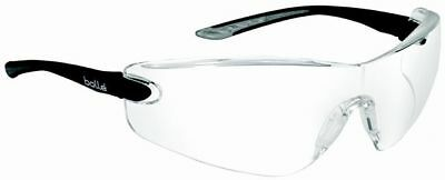 Bolle Cobra Safety Glasses | Black Temples | Clear Anti-Fog Lens