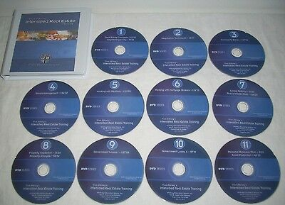 Russ Whitney Intensified Real Estate Training Complete Dvd Set W/ Cdrom Manual
