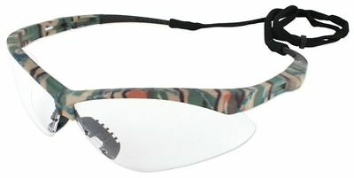 NEW Jackson Nemesis Safety Glasses with Camo Frame and Clear Anti-Fog Lens