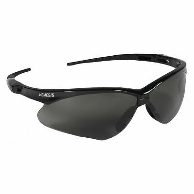 NEW Jackson Nemesis Safety Glasses | Black Frame | Anti-Fog Smoke Lens